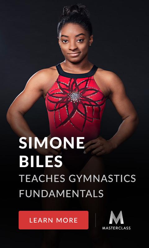 Simone Biles masterclass