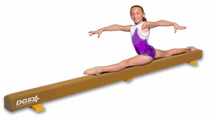 Great home beam for at home use gymnastics
