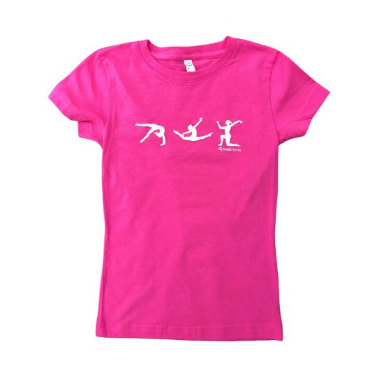 pink gymnast figure