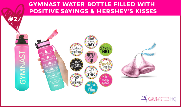 valentines day gifts for gymnasts water bottle
