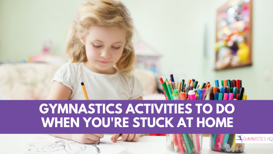 Gymnastics Activities and Worksheets to do at home
