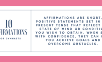 10 Best Affirmations for Gymnasts