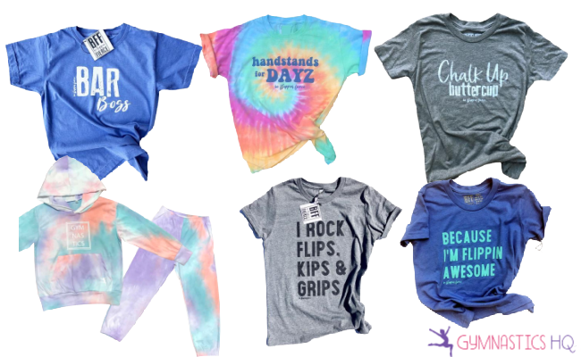 gymnastics clothing gifts