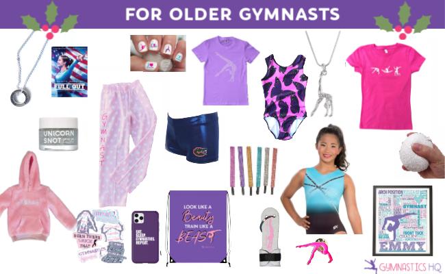 gymnastics gifts older gymnasts