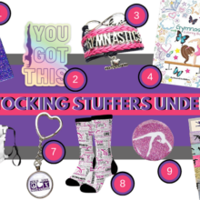 10 Gymnastics Stocking Stuffers Under $10!
