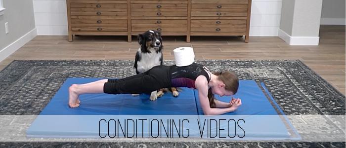 conditioning videos gymnastics