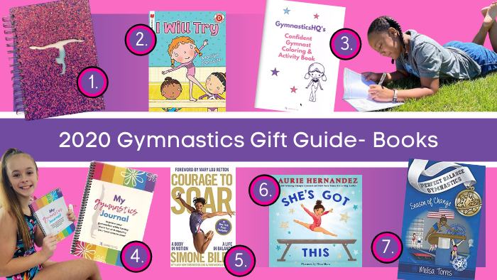 gymnastics gifts books 2020