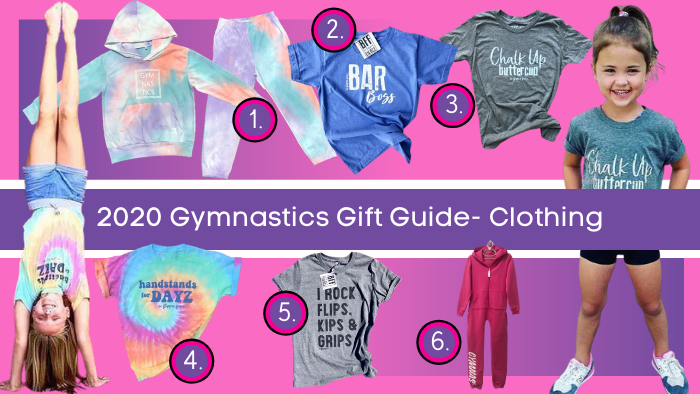 gymnastics gifts 2020 clothing