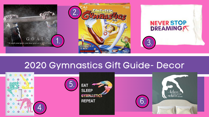 gymnastics gifts 2020 room decor