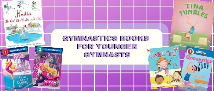 gymnastics books for younger gymnasts