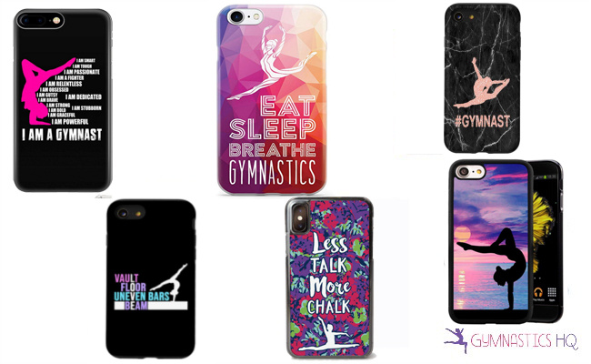 gifts gymnasts phone cases