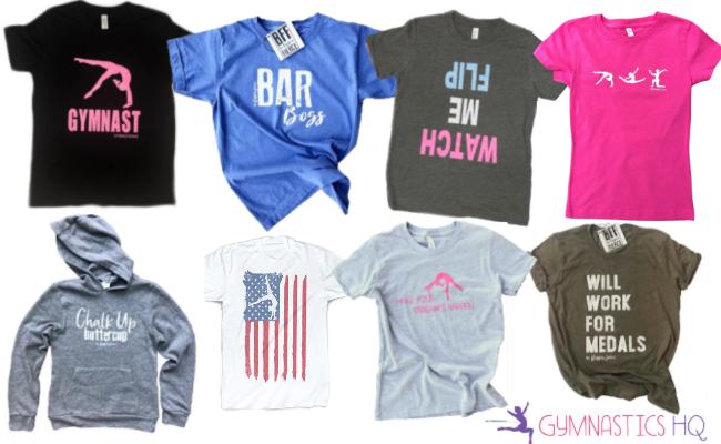 gymnastics gifts shirts clothing