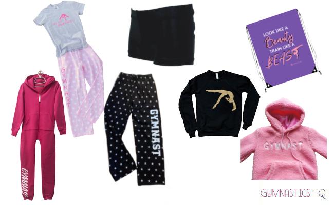 gymnastics gifts workout clothes pjs