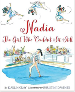 gymnastics book nadia picture book
