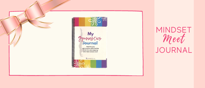 mindset meet gymnastics journal popular gift