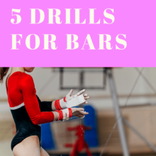 Gymnastics Drills with a Bar