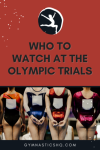 Who to watch at the Olympic trials