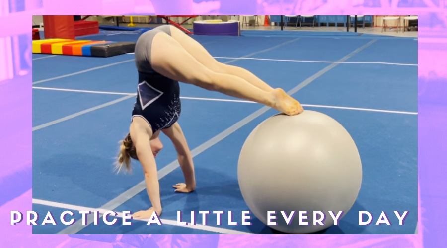 4 habits practice a little everyday