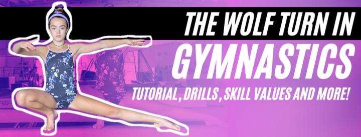 Wolf Turn in Gymnastics